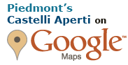 Castelli Aperti del piemonte on Google maps